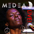 MEDEA Live! CD Album Cover Graphics